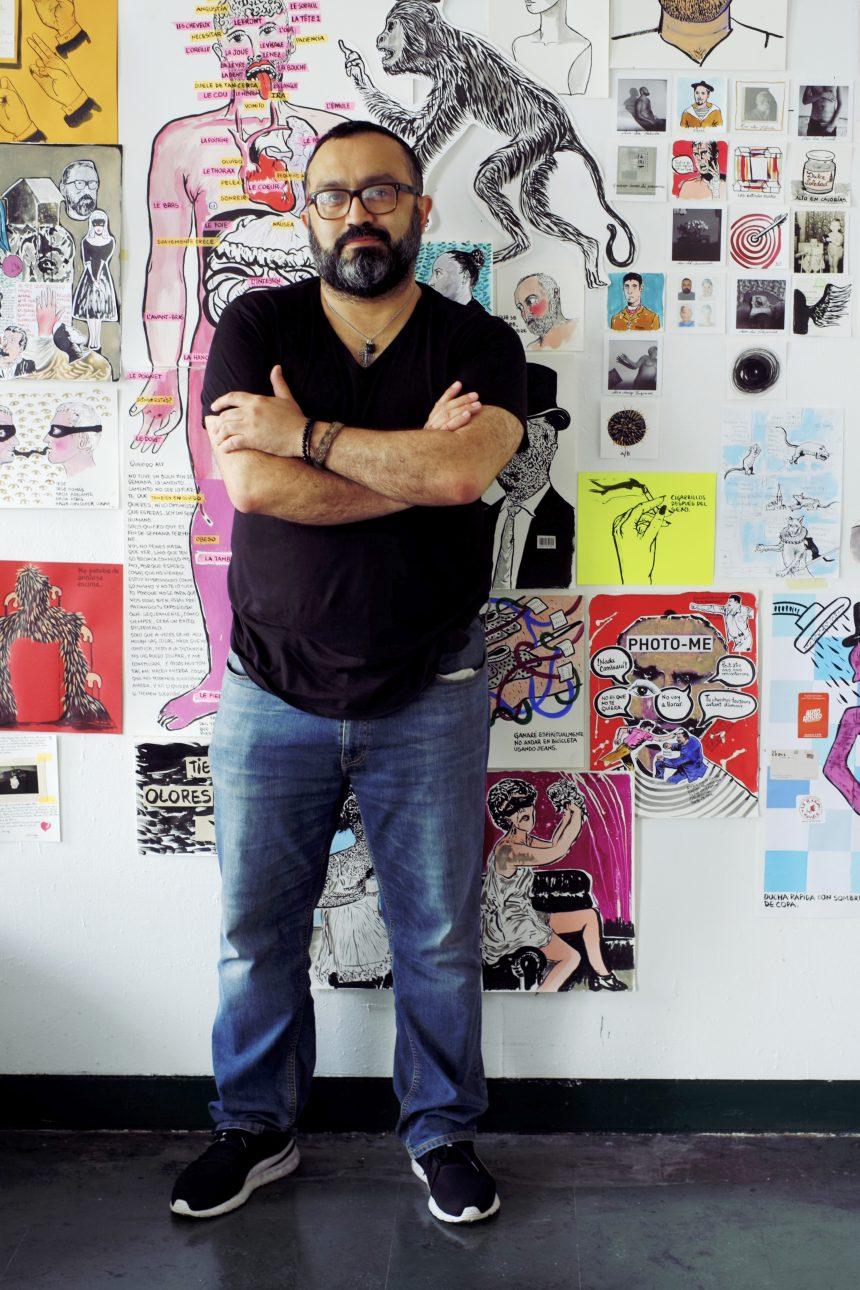 Alfredo Quiroz artista paraguayo nos narra sobre su beca en Paris